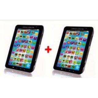 Buy 1 Get 1 Free- Karnavati P1000 Multi Function Educational Learning Toy Tablet