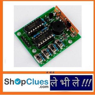 E67 Do it Yourself 16 Music Sound Tone Box electronic module DIY Kit  CD4066/4011
