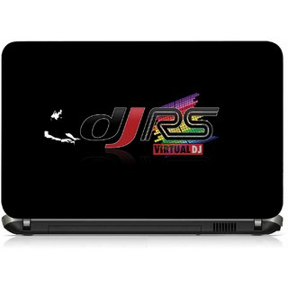 VI Collections DJ RS LOGO IN MUSIC pvc Laptop Decal 15.6