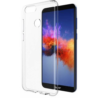 Transparent Soft Back Cover For Huawei Honor 7X