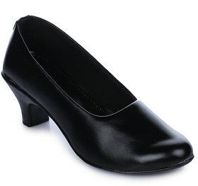 Ikrah Women's Black Formal Shoe
