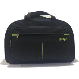 Trustedsnap Black Neon Duffle Bag