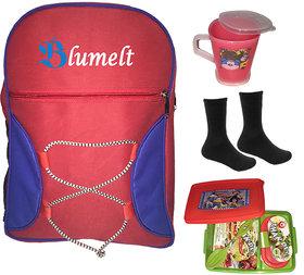 Blumelt Rocker School Bag Combo Of 4