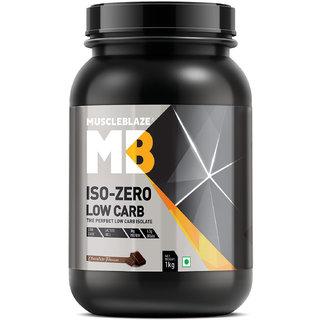 Muscleblaze Iso zero LOW CARB Chocolate(1Kg)