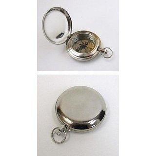 2 Chrome Scouts Push Button Dalvey Pocket Compass