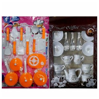 Oh Baby branded Cute Multi-coloured Kitchen set with Cup set Good Gift item For Kids FOR YOUR KIDS SE-ET-282