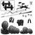 SPORTO Fitness 20 kg combo2-wb Home Gym  Fitness kit