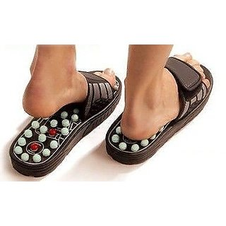 Accu Paduka Foot Massager Acupressure Massageslipper Leg Foot Massager Unisex