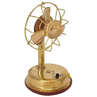 Antique Fan for God Pure Brass  Wood Fan In Fine Unique Stunning And Decorative Art