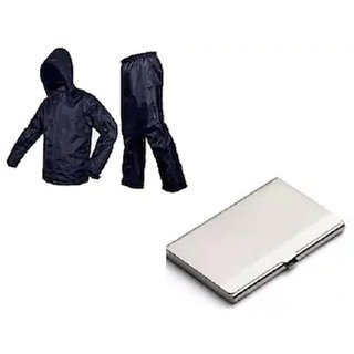 Complete Rain Suit With Data Secure Aluminium Wallet