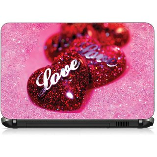 VI Collections GRADIENT LOVE HEARTS pvc Laptop Decal 15.6