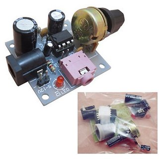 E56 LM386 Super MINI 200x Amplifier Board DIY Kit Components and Parts 5-12V