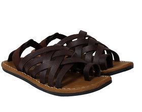 Metmo Men's Brown Sandal