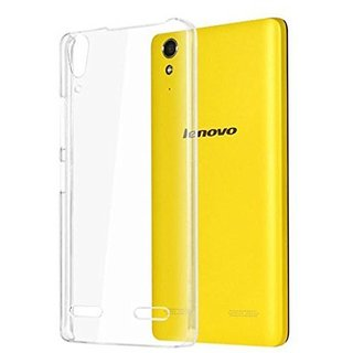 SMART BUY   Best Quality Shock Proof  Back  Cover / Case   For lenovo A6000 ( New Transparent Flexible Back Cover )
