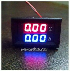 E6 DC 0-100V  0-10A Digital Voltmeter Ammeter Panel Meter Voltamp 10A Shunt