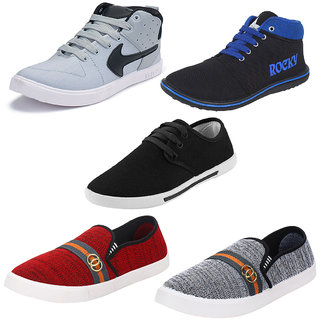 Armado Men/Boys Combo Pack-5 Casual Shoes