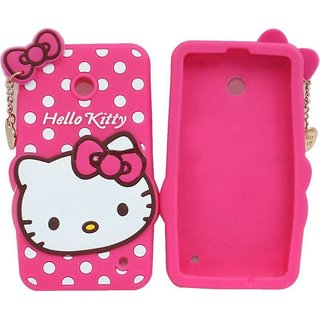 timeless design a6e93 c0deb CUTE SUPER SOFT Hello Kitty Baby Pink Color Back Cover / case For Nokia 2 -  Best Beautiful Flexible Cover For Girls