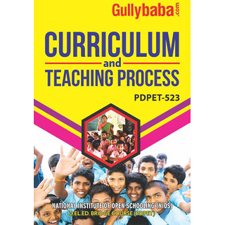 PDPET-523 Curriculum and Teaching Process