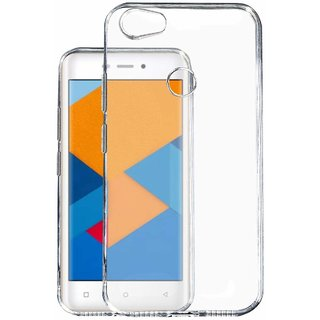 BK Transparent Back Cover For Mobiistar XQ Dual