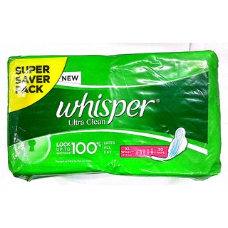 Whisper Ultra Clean XL-30 pads