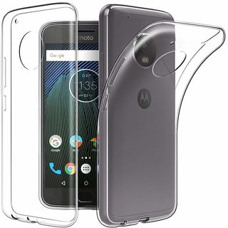BK Transparent Back Cover For moto g5s plus
