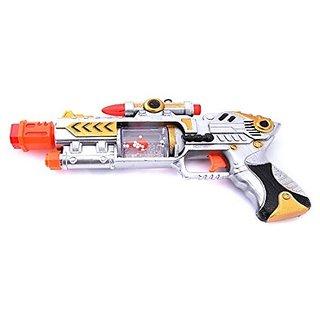 AKSHATA Laser Sound Music Flashing Lights Gun Toy for Kids
