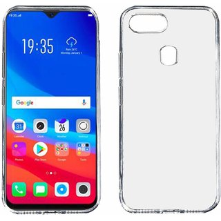 new style c3f71 198c0 KOVERZ Soft Silicone TPU Jelly Crystal Clear Soft Back Case Cover For OPPO  F9 Pro -Transparent