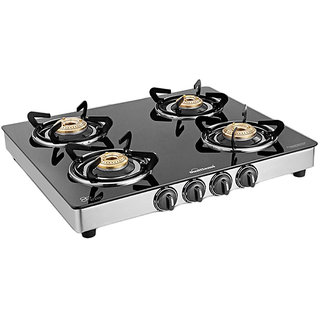 Sunflame Classic 4 Burner Gas Stove SS
