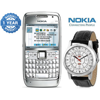 Nokia E71/ Good Condition/ Certified Pre Owned (1 Year Warranty) With Watch