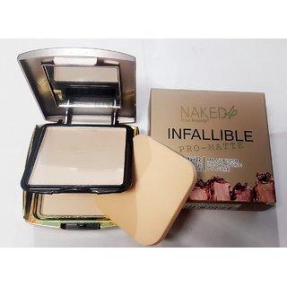 Nked4 kiss beauty face powder compact