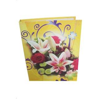 MULTI FLOWER PHOTO ALBUM ( SIZE 6x8-60 PHOTOS POCKETS ) MC2301