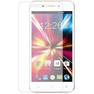 Premium Quality Gorilla Tempered Glass Screen Protector for Lava Flair Z1 (Transparent) by aadee 00935
