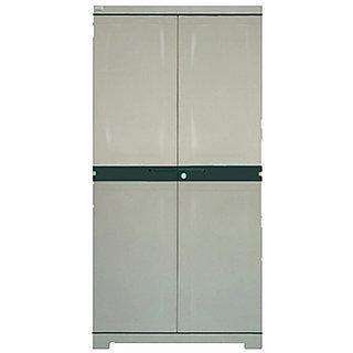 Nilkamal Freedom Mini Medium Multipurpose Plastic Cabinet (Olive Pastel Green)