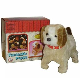 Oh Baby branded ELECTRONIC TOY is luxury Products Super Vision Beige Lovely Jumping Dog - FOR YOUR KIDS SE-ET-374