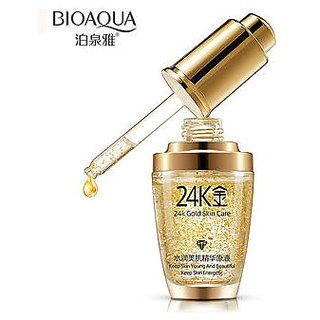 24k Gold Facial Skin Care Anti wrinkle Anti-Ageing Face Serum Moisturizing