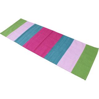 Ryan overseas cotton  yoga mat multi colour