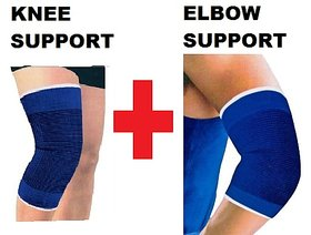 Combo Pack of Elbow Support  Knee Support