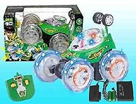 Stunt Car with Remote Control 3D Wireless Rechargeable Ben 10