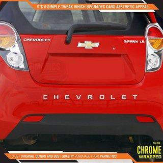 Chevrolet 3D Letters for Chevrolet Sail Hatchback - Chrome Wrapped Letters - Chevrolet car Accessories 3D Letters Chrome