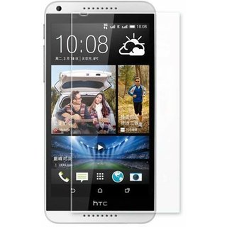 Premium Quality Gorilla Tempered Glass Screen Protector for HTC Desire 816 (Transparent) by aadee 001045