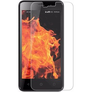 Premium Quality Gorilla Tempered Glass Screen Protector for LYF Wind 5 (Transparent) by aadee 01318