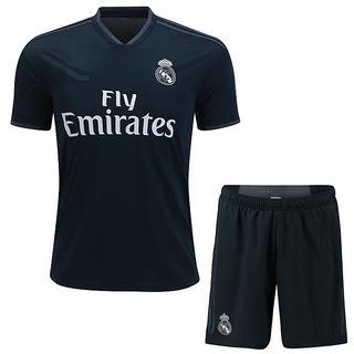 a3640a0ee14 Buy FOOTBALL JERSEY WITH SHORTS REAL MAD RID HOME KIT SEASON 17-18 Online -  Get 50% Off