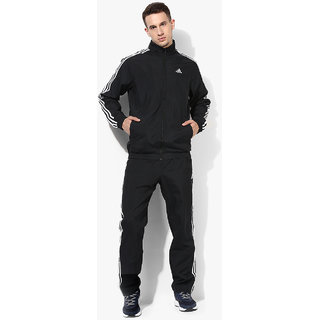 Adidas Essentials Black Tracksuit