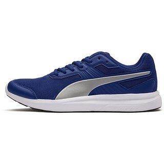 Puma Mens Blue Escaper Mesh Running Shoes