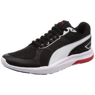 Puma Mens Black Escaper Tech Running Shoes
