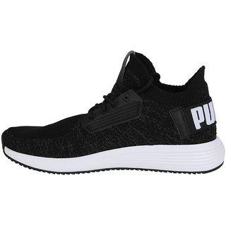 af58faff6a8ca7 Buy Puma Men s Black Uprise Knit Running Shoes Online   ₹5169 from ...