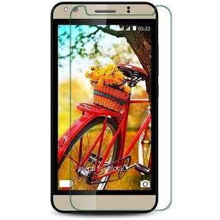 Premium Quality Gorilla Tempered Glass Screen Protector for Panasonic P71 (Transparent) by aadee 01619