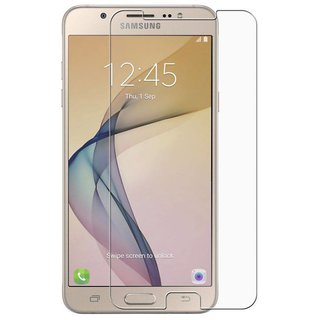Premium Quality Gorilla Tempered Glass Screen Protector for Samsung Galaxy J7 Prime (Transparent) by aadee 02324