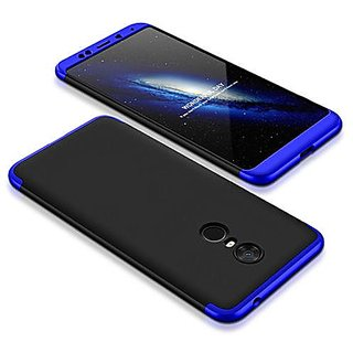 cheaper d22eb a0359 3 in 1 360 Full Body Slim Fit Protection Hybrid Hard Back Cover for Xiaomi  Mi Max 2 - Blue