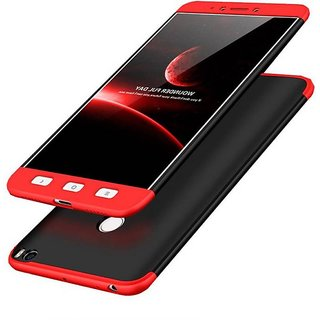 promo code a0e21 3d706 3 in 1 360 Full Body Slim Fit Protection Hybrid Hard Back Cover for Xiaomi  Mi Max 2 - Red